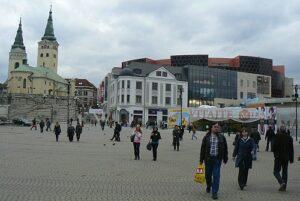 Žilinský úľ na Hlinkovom námestí.