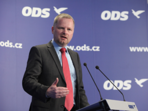 Předseda ODS Petr Fiala. Zdroj: Flickr.com
